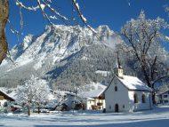 Martinskapelle winter